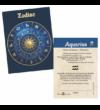 Vărsător  medalie zodiac  ambalată exclusiv