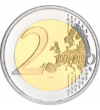 """""""Căderea Zidului Berlinului"""", 2 euro, Germania, 2019"""