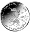Sportiv legendar pe monedă euro, 5 euro, Olanda, 2019
