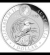 Kookaburra are 30 de ani, 1 dolar, argint, Australia, 2020