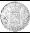 Regele ofertat cu trei coroane, 5 franci, argint, Belgia, 1849-1865
