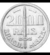 Cel mai cunoscut ofiţer al Braziliei, 2000 reis, argint, Brazilia, 1935