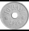Moneda Regelui Carol I, 10 bani, România, 1905-1906