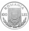100 lei  Olimpiadă Canotaj  Ag  1996 România