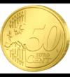 Sf. Apostol Matei - monedă pictată, 50 cenţi, UE