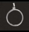 """suport pandantiv  Suport pandantiv pentru medalii  metal      Suportul pandantiv poate fi utilizat la medaliile colecţiei """"Icoane şi Sfinţi""""!"""