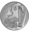 Ján Cikker, compozitor, 10 euro, argint de 900/1000, Slovacia, 2011