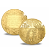 Scene biblice ilustrate pe emisiuni istorice din aur