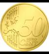 Fecioara Maria cu pruncul - monedă pictată, 50 cenţi, UE