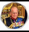 Rămas bun de la prinţul Philip  2x50 pence  Marea Britanie