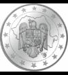 Vasile Alecsandri, medalie comemorativă unică, placată cu argint