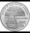Bisericile de lemn din Tatra Mare, 200 coroane, argint, Slovacia, 2002