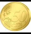 Minunile lui Iisus, Intrarea în Ierusalim - monedă pictată, 50 cenţi, UE