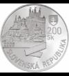 200 coroane  argint de 900/1000  Slovacia  2005 - Leopold I a fost rege al Boemiei  Ungariei  Croaţiei  arhiduce de Austria. După decesul tatălui său  Ferdinand al II-lea  a fost ales împărat al Sfântului Imperiu Roman. A acordat privilegii atât cre