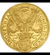Leopold I, medalie de aur de încoronare, 1655, replică înnobilată cu aur