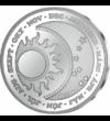 medalie din argint  Vine  vine primăvara - medalie din argint pur  argint de 999/1000
