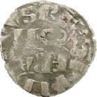 Filip al II-lea, regele Parisului, denar, argint, Franţa, 1180-1223