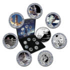 Semicentenarul aselenizării, 7x1/4 USD, SUA, 2004
