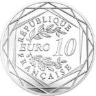 A stat 30 de ani, a fost demolat acum 30 de ani, 10 EUR, argint, Franţa, 2019