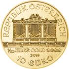 Muzică pentru... ochi, 10 EUR, aur, Austria, 2019