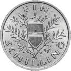 Şilingul austriac, 1 şiling, argint, Austria, 1925-1932