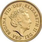 Moneda coroanei, 1/4 sovereign, aur, Marea Britanie, 2018