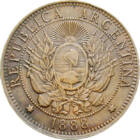 Nu plânge pentru mine, Argentina!, 2 centavo, Argentina, 1882-1896