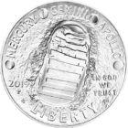 Omul a păşit pe Lună de 50 de ani, 1 USD, argint, SUA, 2019