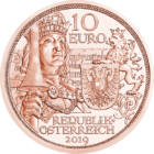 Idealul cavaleresc, 10 EUR, Austria, 2019