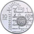 Diplomele de la Zobor, 10 EUR, argint, Slovacia, 2011