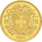 Elveţia+aur=siguranţă, 20 CHF, aur, Elveţia, 1883-1949