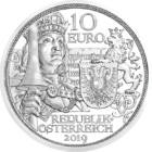 Idealul cavaleresc, 10 EUR, argint, Austria, 2019