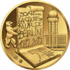 30 de ani a stat, de 30 de ani a fost demolat, 5 EUR, aur, Franţa, 2019