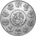 Monedă oficială fără valoare nominală, 1 libertad, argint, Mexic, 2019