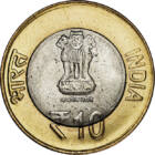 Mahatma Gandhi , 10 rupii, India, 2015