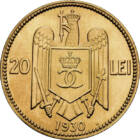 Pe urmele acvilei încoronate , 20 lei, România, 1930