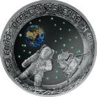 50 de ani de la primul pas pe Lună, 20 EUR, argint, Austria, 2019