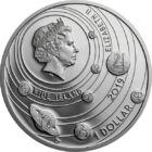 Sursa de energie vie - Soarele, 1 dolar, argint, Niue, 2019