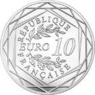 După CE, Campionatul Mondial în Franţa, 10 EUR, argint, Franţa, 2016