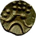 Aurul comercianţilor, fanam de aur, aur, India, secolul XVII–XIX