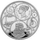 200 de ani de la naşterea reginei, 5 GBP, Marea Britanie, 2019