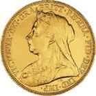 Aurul Reginei Victoria, 1/2 sovereign, aur, Marea Britanie, 1893-1901