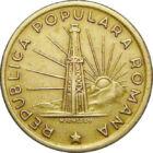 Monedă din timpul Republicii Populare, 1 leu, România, 1949-1951