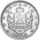 Ferdinand I, întregitorul de ţară, 2 lei, România, 1924
