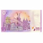 Papa Francisc, 0 euro, bancnotă suvenir, 2018