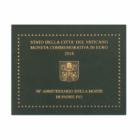 Părintele Pio, 2 euro, Vatican, 2018 - blister exclusiv