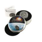 Meteoritul Tamdakht pe monedă argint, 2 dolari, Insulele Cook, 2016