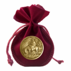"""Medalia """"Maica Domnului"""", care poate fi agăţată pe pomul de Crăciun - ambalat elegant"""
