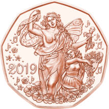 La mulţi ani!, 5 EUR, Austria, 2019