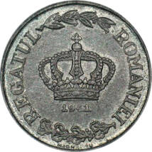 Coroana de Oţel a României, 2 lei, România, 1941